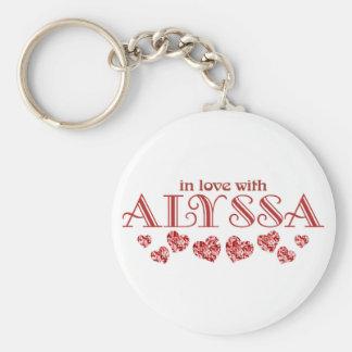 Alyssaとの愛 キーホルダー