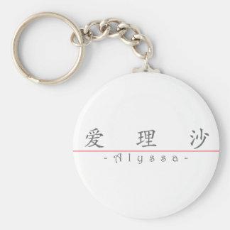 Alyssa 21036_1.pdfの中国のな名前 キーホルダー