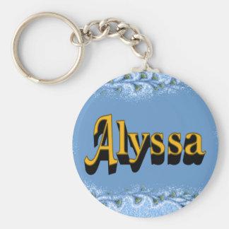 Alyssa Keychain キーホルダー