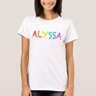 """""""ALYSSA """" Tシャツ"""