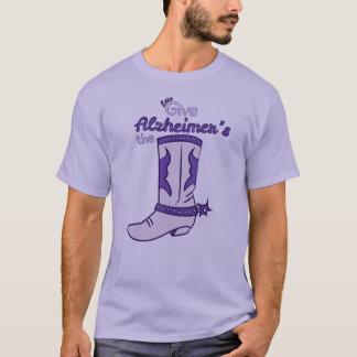 Alzheimerのブーツ#2のワイシャツを与えよう Tシャツ