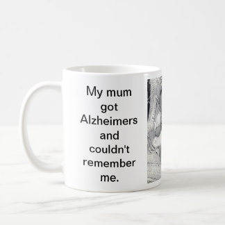 Alzheimerのマグによって印刷されるメッセージ コーヒーマグカップ