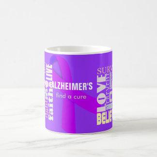 Alzheimerの感動的な単語のマグ コーヒーマグカップ