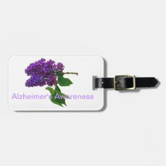 Alzheimerの認識度 ラゲッジタグ