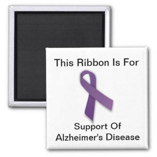 Alzheimerの認識度-正方形の磁石 マグネット