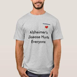 Alzheimerの配偶者のTシャツ Tシャツ