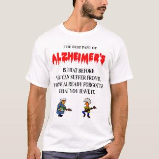 AlzheimerのTシャツ Tシャツ