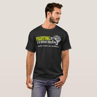 Alzheimerを一掃するために戦うことを覚えるべき戦い Tシャツ