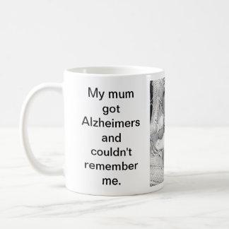 Alzheimer マグ 印刷される メッセージ