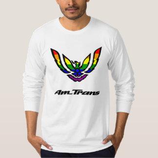 AM TRANS (大きいロゴ)の長袖のワイシャツ Tシャツ