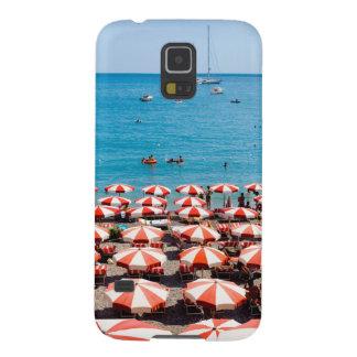 Amalfitanの海岸の傘 Galaxy S5 ケース