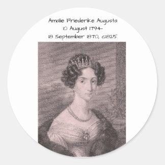 Amalie Friederikeオーガスタc1825 ラウンドシール