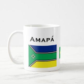 Amapáのブラジルのコーヒーカップ/Caneca de Amapa? コーヒーマグカップ