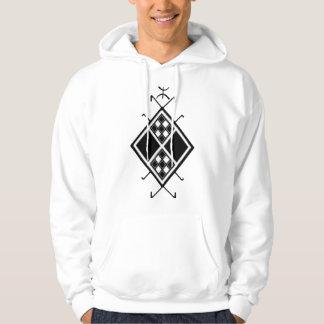 AmazighパターンTシャツ(人) パーカ