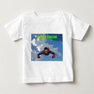 amazing大尉の飛行前部 ベビーTシャツ