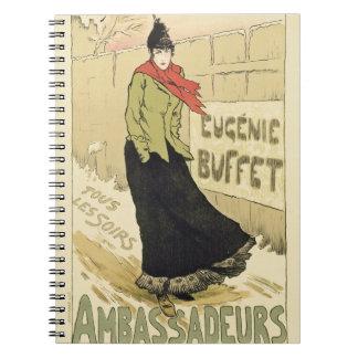 Ambassadeursのノート ノートブック