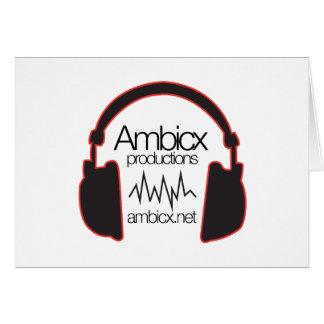 Ambicxlogoの透明なwebsit カード