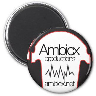 Ambicxlogoの透明なwebsit マグネット