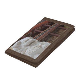 Amdoのチベットの雪のライオンの美術館の財布