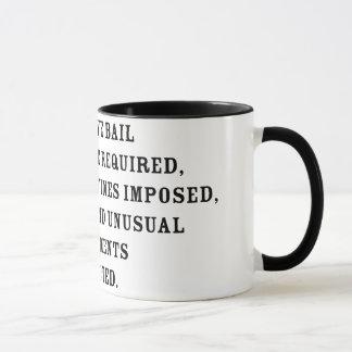 Amendentの第8文字 マグカップ