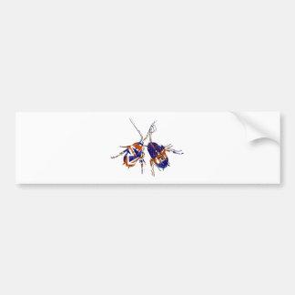 Ameri英国人のゴキブリ バンパーステッカー