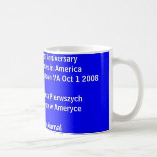 、Americの400th記念日最初ポーランド人、…襲って下さい コーヒーマグカップ