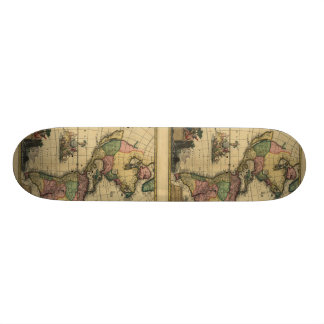 Americamのutramque -北及び南アメリカの地図 スケートボード