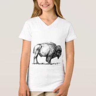 American Buffalo Bison Tシャツ