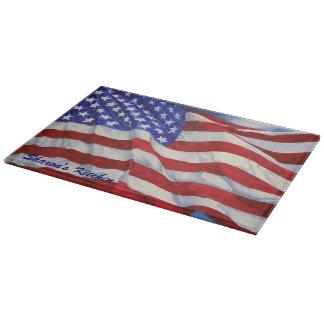 American Flag - カッティングボード