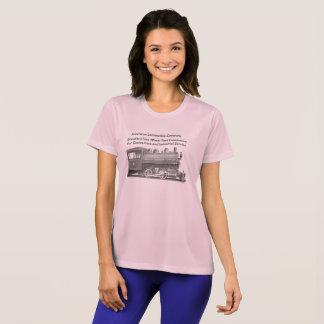 American Locomotive Company 0-4-0のTレディース Tシャツ