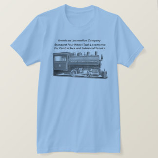 American Locomotive Company 0-4-0 T Tシャツ