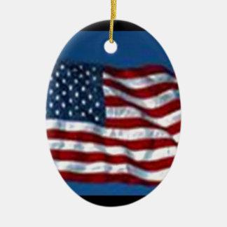 americanflag セラミックオーナメント