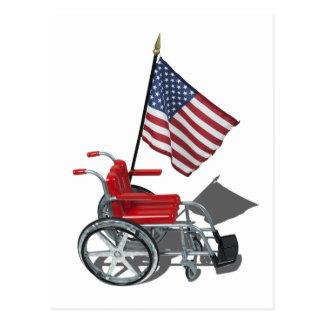 AmericanFlagWheelchair090912.png ポストカード