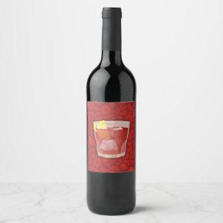 Americanoのカクテル ワインラベル