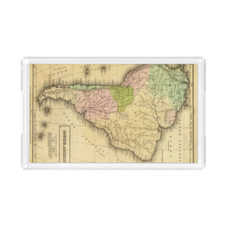 AmericaOlneyの南地図 アクリルトレー