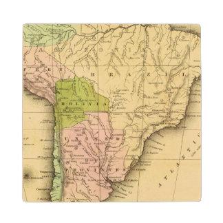AmericaOlneyの南地図 ウッドコースター