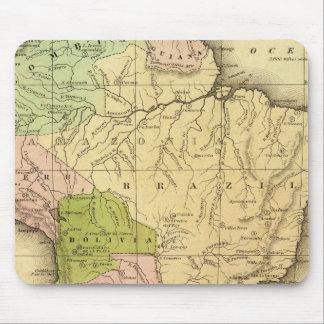 AmericaOlneyの南地図 マウスパッド