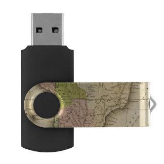 AmericaOlneyの南地図 USBフラッシュドライブ
