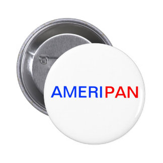 AMERIPAN Hetailaボタン 5.7cm 丸型バッジ