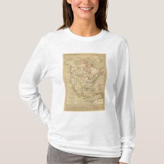 Amerique Septentrionale en 1840年 Tシャツ