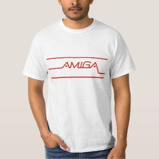 Amigaのオリジナルのロゴ Tシャツ