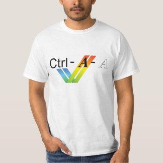AmigaのユーザーのためのCtrl AltDel Tシャツ