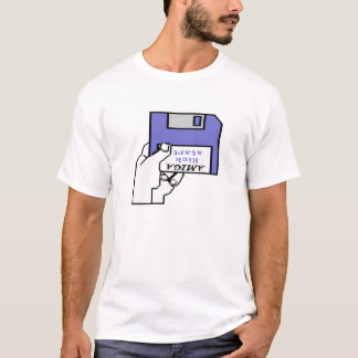 Amigaは1.0そして1.1のブーツのロゴをKickstart Tシャツ