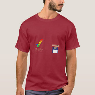 Amigaは2.0 (37.300の) TシャツをKickstart Tシャツ