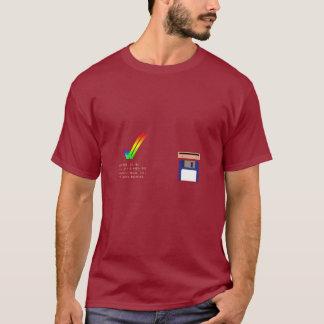 Amigaは3.00 (39.106の) TシャツをKickstart Tシャツ
