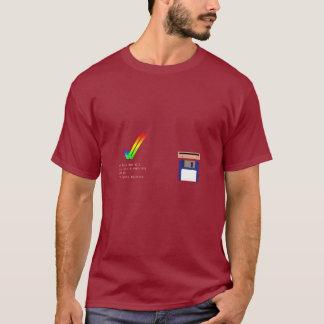 Amigaは4.3 (ベータ歩行者) TシャツをKickstart Tシャツ