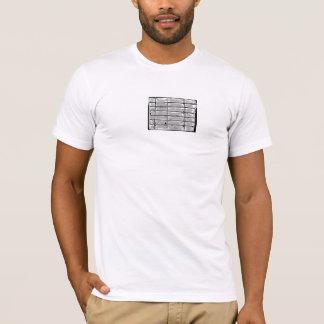 AMIOTのギャラリー「塀」のTシャツ Tシャツ