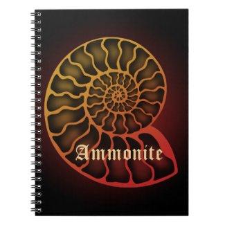 Ammonite スパイラルノート