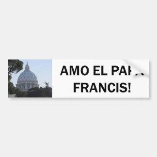 AMO ELのパパフランシス島! バンパーステッカー