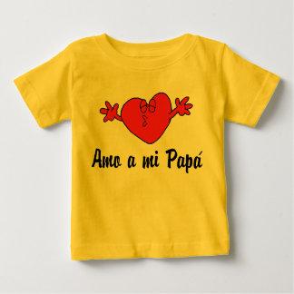 Amo miのパパ ベビーTシャツ